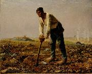 Jean-Franc Millet Man with a hoe oil painting picture wholesale